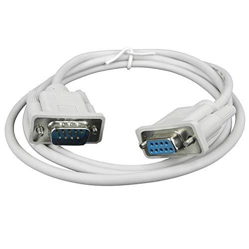 Кабель удлинитель COM интерфейса RS232 с разъемами DB9 M-F KS-is (KS-366-4) 4м