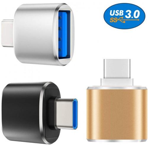 Переходник OTG USB в USB-C KS-is KS-388