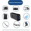 Переходник USB 3.0 F-F KS-is (KS-400)