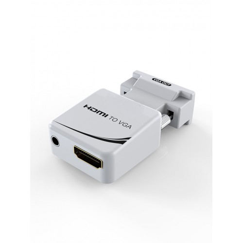 Адаптер HDMI F в VGA M с аудио KS-is (KS-425)