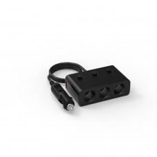 Разветвитель прикуривателя на 3 c USB QC3.0 KS-is (KS-435)
