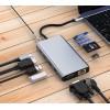 Док станция USB-C 11 в 1 KS-is (KS-450)