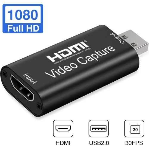 Адаптер видеозахвата HDMI USB 2.0 KS-is (KS-459)