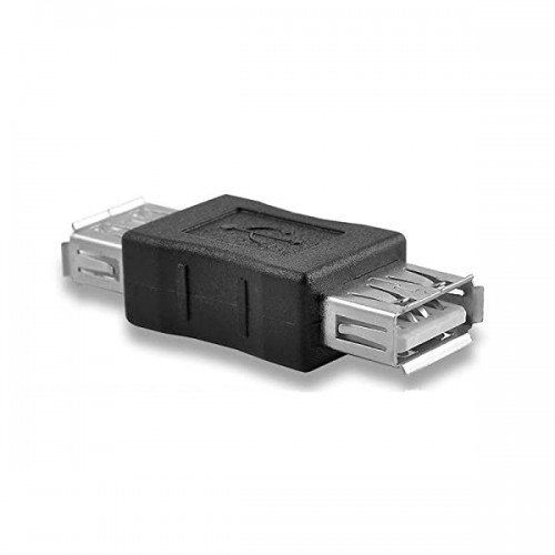 Адаптер USB 2.0 Type A Female в A Female KS-is (KS-487)