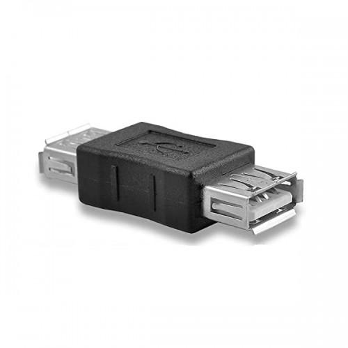 Адаптер USB 2.0 Type A Female в A Female KS-is (KS-487)