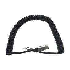 Спиральный кабель USB-C Lightning KS-is (KS-495)