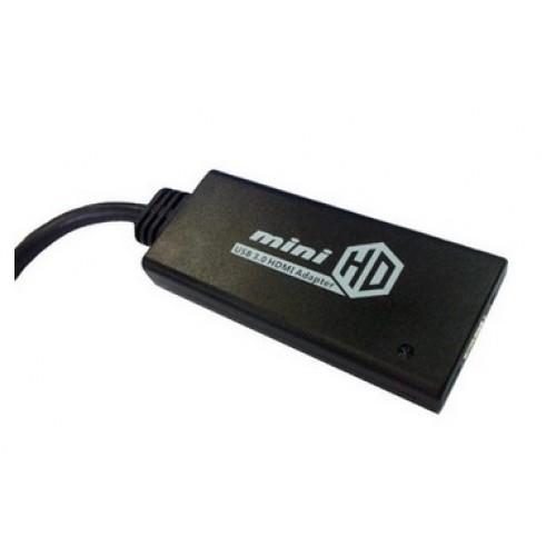 Адаптер USB 3.0 в HDMI KS-is (KS-522) макси